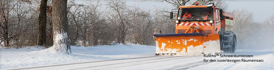 Schneeräumleisten von Rüscho