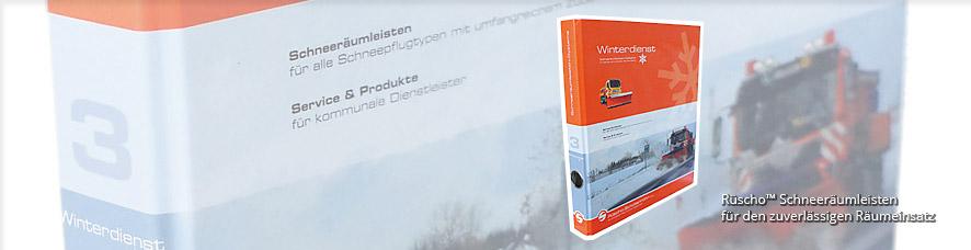 Rüscho Schneeräumleisten Katalog